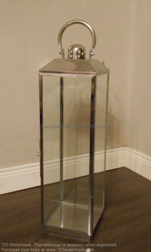 Stainless Steel Candle Lantern 71cm
